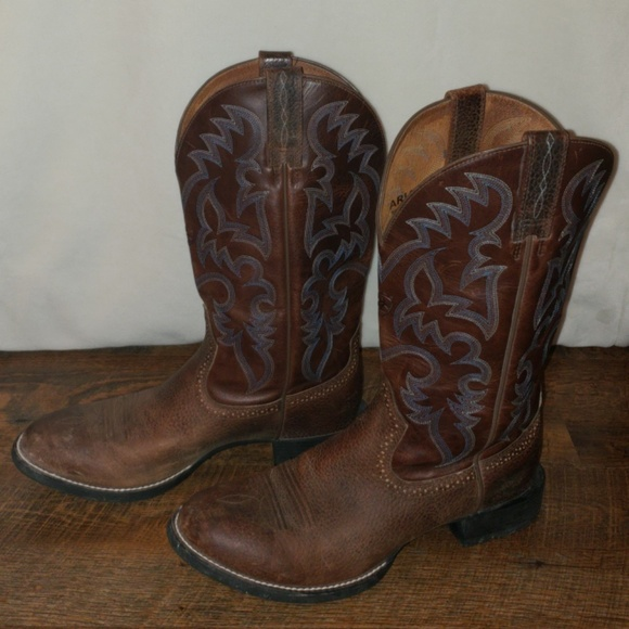 eb64749b418 EUC Ariat Sport Horseman Boots Size 11D